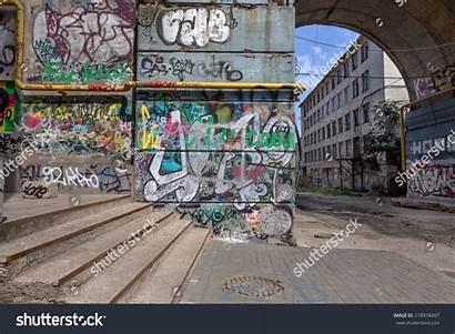 Graffiti Street Creative Abstract Drawing Walls Urban