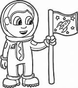 Coloring Astronaut Pages Preschool Parts Preschoolers Suit Sheet Space Printables Drawing Shuttle Getcolorings Getdrawings Printable Colorings sketch template