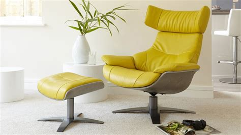 Armchair And Footstool by Leather Reclining Armchair And Footstool Living Room Uk