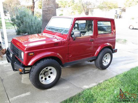 Suzuki Samuri For Sale by 1987 Suzuki Samurai Jx Tin Top