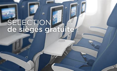 air transat selection de siege option plus air transat