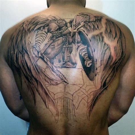 remarkable angel tattoos  men ink ideas  wings