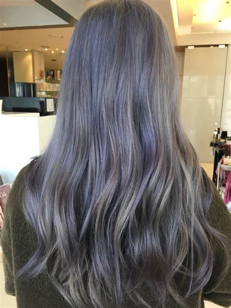 Colour Hairstyles by Lavender Ash Brown Kpophaircolor Kpophairstyle