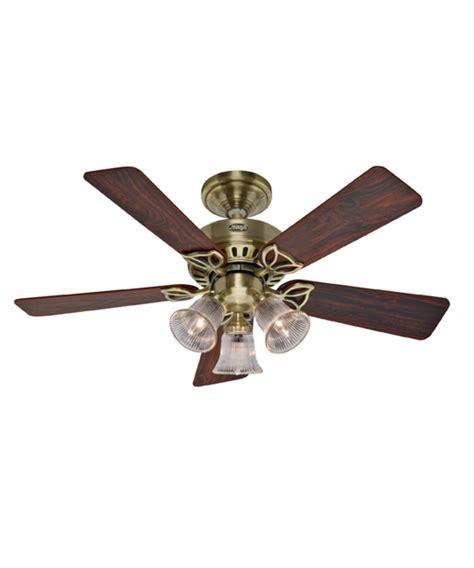 42 inch ceiling fan with light hunter fan 20430 beacon hill 42 inch ceiling fan with