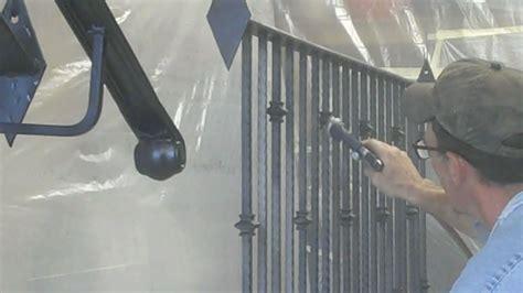 paint wrought iron railing decoration diy wrought iron