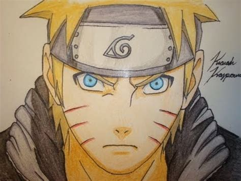 draw naruto art meaning