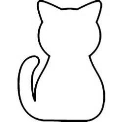 basic outlines basic cat outline clipart best