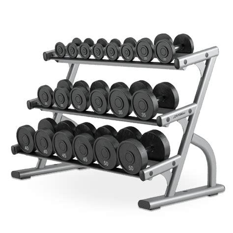 dumbbell rack set 3 tier dumbbell rack osdb3 fitness