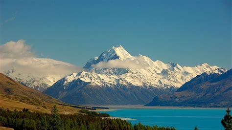 full hd wallpaper mountain snow lake alaska cloud amazing