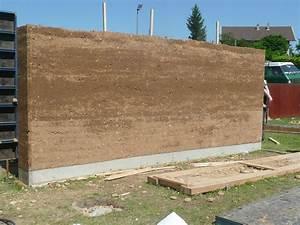 Mur En Pisé : mur en pis grains d is re 2012 atelier alp ~ Melissatoandfro.com Idées de Décoration
