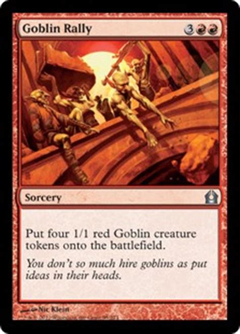 budget goblin commander deck forging a budget commander deck by mike cannon