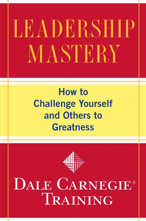leadership mastery book  dale carnegie training