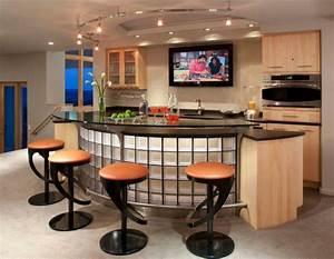 Des idees de bar moderne pour votre maison bricobistro for Bar pour maison design