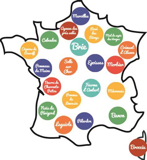 Carte Vin Aoc by Le Tour De Des Aoc Et Des Aop Foodette