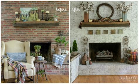how to update a brick fireplace how to update a brick fireplace with a unique paint
