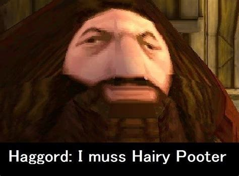 Hagrid Meme - i muss arry ps1 hagrid know your meme