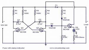 Fuse Schematic Diagram