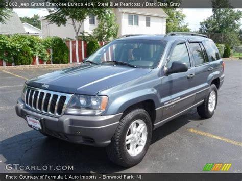blue grey jeep cherokee steel blue pearlcoat 2002 jeep grand cherokee laredo 4x4