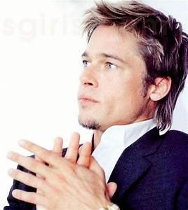 Brad Pitt's Choppy Fight Club Hairstyle Pictures ...