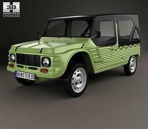 Citroën Mehari : citroen mehari 1968 3d model hum3d ~ Gottalentnigeria.com Avis de Voitures