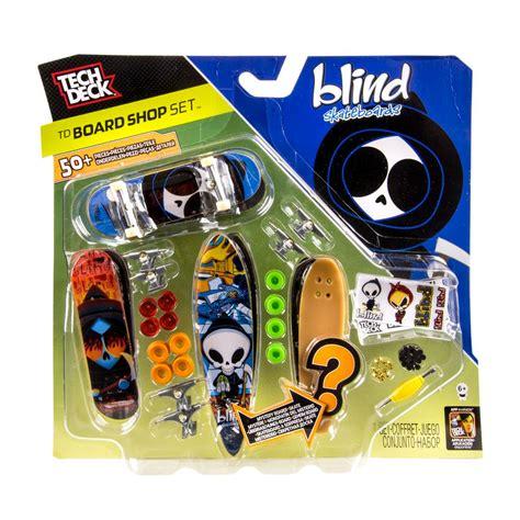spin master tech deck tech deck board shop blind 4 pk