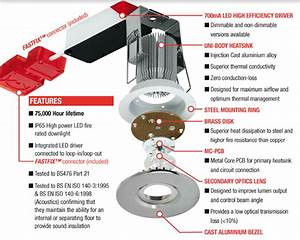 I9 Fire Rated Led Downlight