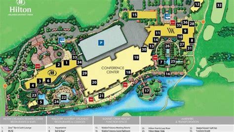 map  hilton orlando bonnet creek property map