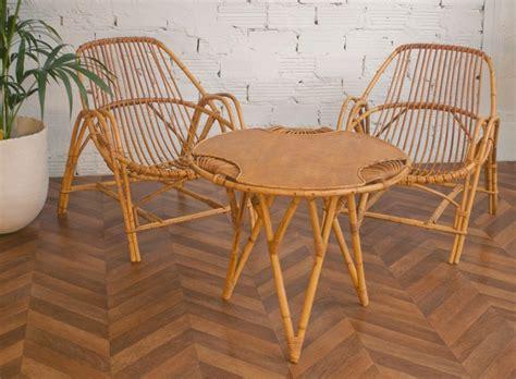 chaise en osier emejing salon de jardin en rotin vintage images amazing