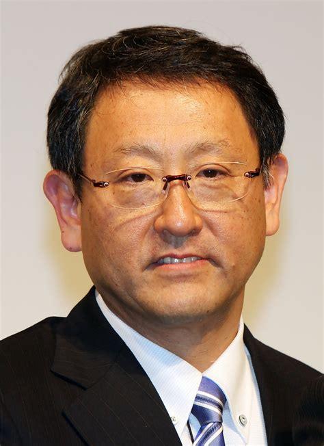 Akio Toyoda in Akio Toyoda Attends The First Press ...
