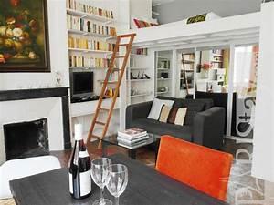 Studio Mezzanine Paris : long term rental paris le marais 75003 paris ~ Zukunftsfamilie.com Idées de Décoration