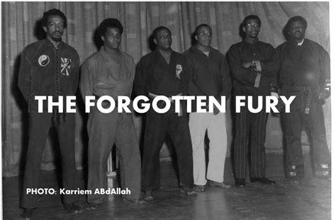 forgotten fury  legendary black martial arts