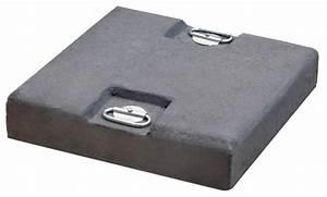 Sockel Für Sonnenschirm : betonplatte scolaro betonplatte grau beschwerungsplatte f r schirmst nder online shop ~ Sanjose-hotels-ca.com Haus und Dekorationen