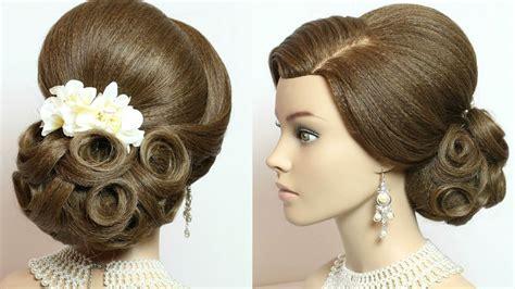 Bridal updo, hairstyles for long hair tutorial - Makeup Videos
