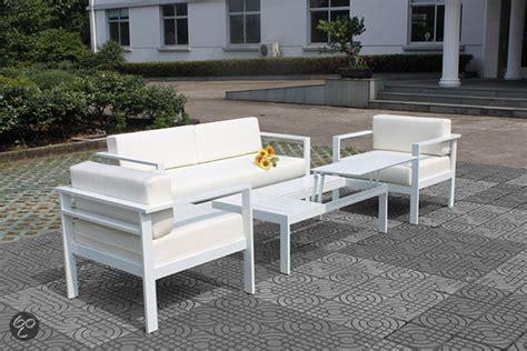 Loungeset Voor Buiten Tweedehands by Bol Fonteyn Loungeset Modern 4 Delig Aluminium