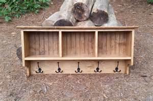 coastal bathroom designs rustic coat rack cubby shelf