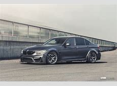 Mineral Gray BMW M3 With Carbon Fiber And VMR Wheels
