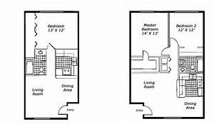 1 bedroom apartment floor plans buybrinkhomescom With 1 bedroom flat house plan