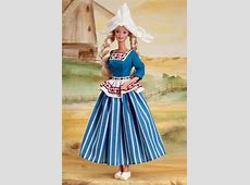 Dutch Barbie doll wears a costume native to the fishing