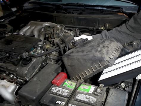 1996 Toyotum Camry Fuel Filter by 1991 1996 Toyota Camry Engine Air Filter Replacement 1991
