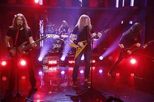 """Megadeth Performs On """"Late Night With Seth Meyers"""" (Watch Now)"""