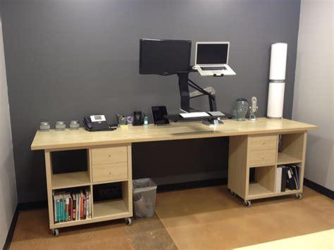 kallax workstation extraordinaire ikea hackers