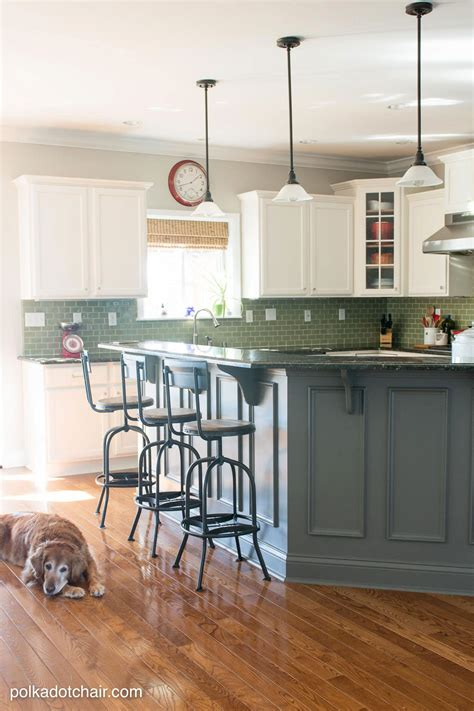side of kitchen cabinet ideas painted kitchen cabinet ideas and kitchen makeover reveal