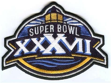 Super Bowl Xxxvii Superbowl 37 Buccaneers Raiders Patch Ebay