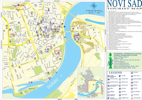 novi sad online maps geographical political road