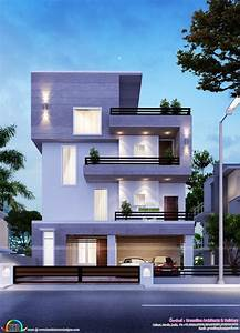 Home Architecture Simple Modern Bangalore Kerala And House Design Floor Plans Exterior Designs