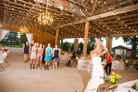 day wedding package at thompson farm and nursery conway sc