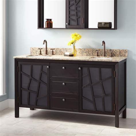 Bathroom Vanities 60 Sink by 60 Quot Louise Vanity For Rectangular Undermount Sinks