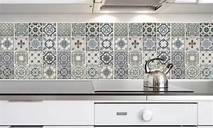 Carreaux De Ciment Autocollant : 4 stickers carreaux de ciment groupon shopping ~ Premium-room.com Idées de Décoration