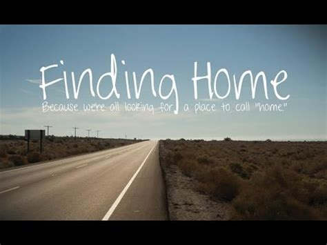 Finding Home: The Documentary - Trailer 1 - YouTube