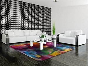 tapis colore pour chambre moderne caxias With tapis moderne coloré